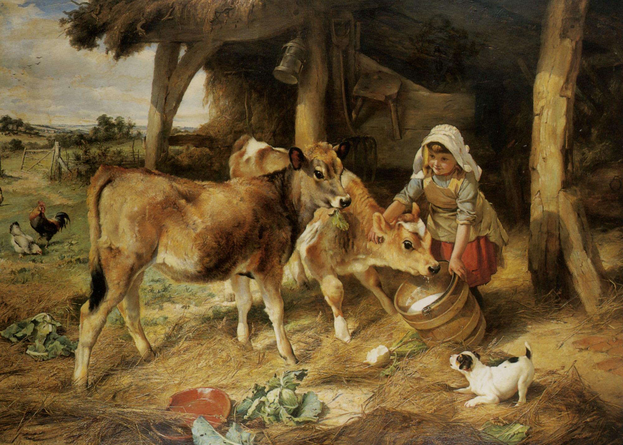 The Weanlings :: Walter Hunt - Village life ôîòî