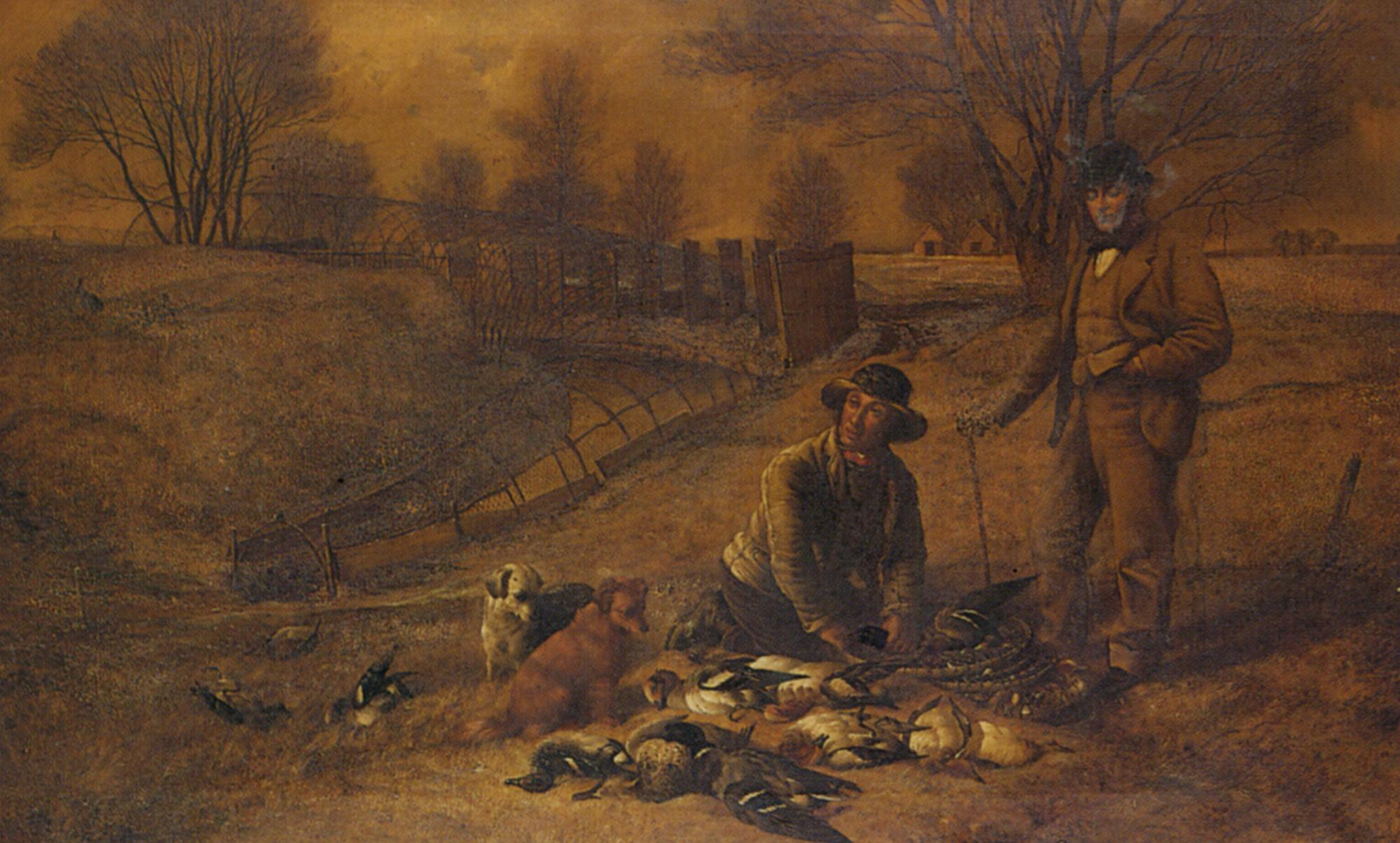 Grange Farm Decoy Ponds East Anglia :: Robert Nightingale - Hunting scenes ôîòî