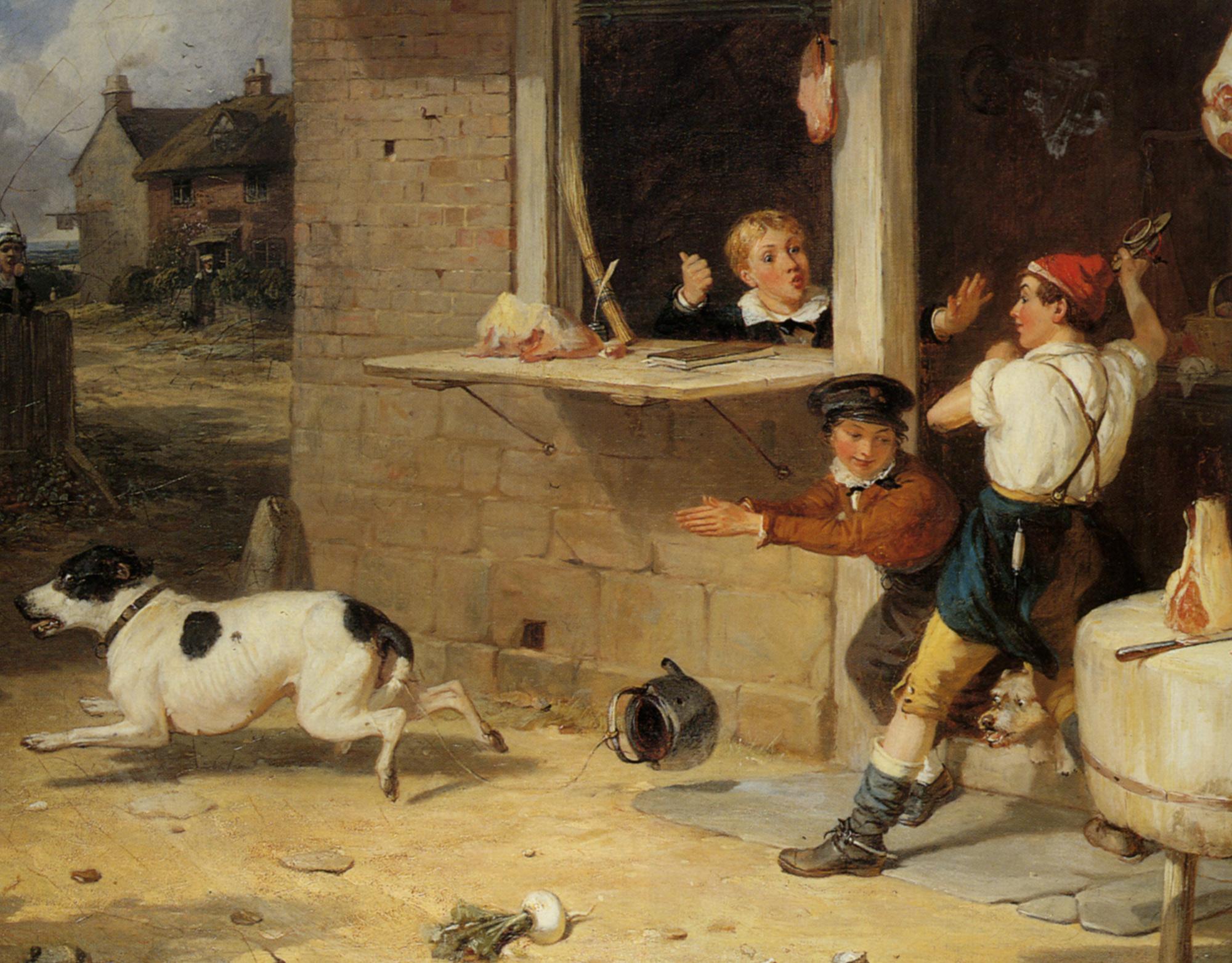 Boys Will Be Boys :: Thomas Webster - Children's portrait in art and painting ôîòî