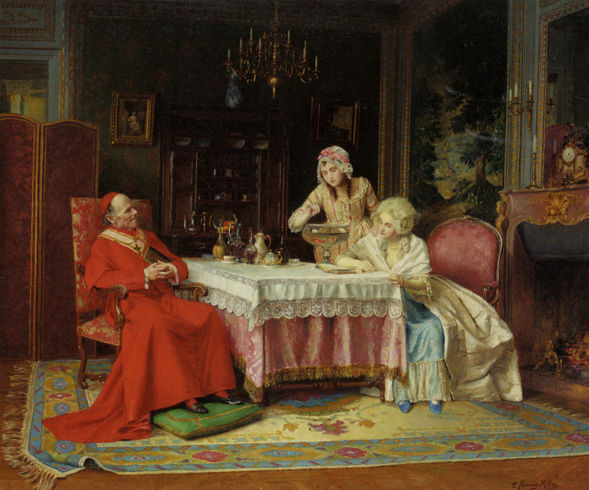 After lunch :: Victor Marais-Milton - Rich interiors ôîòî