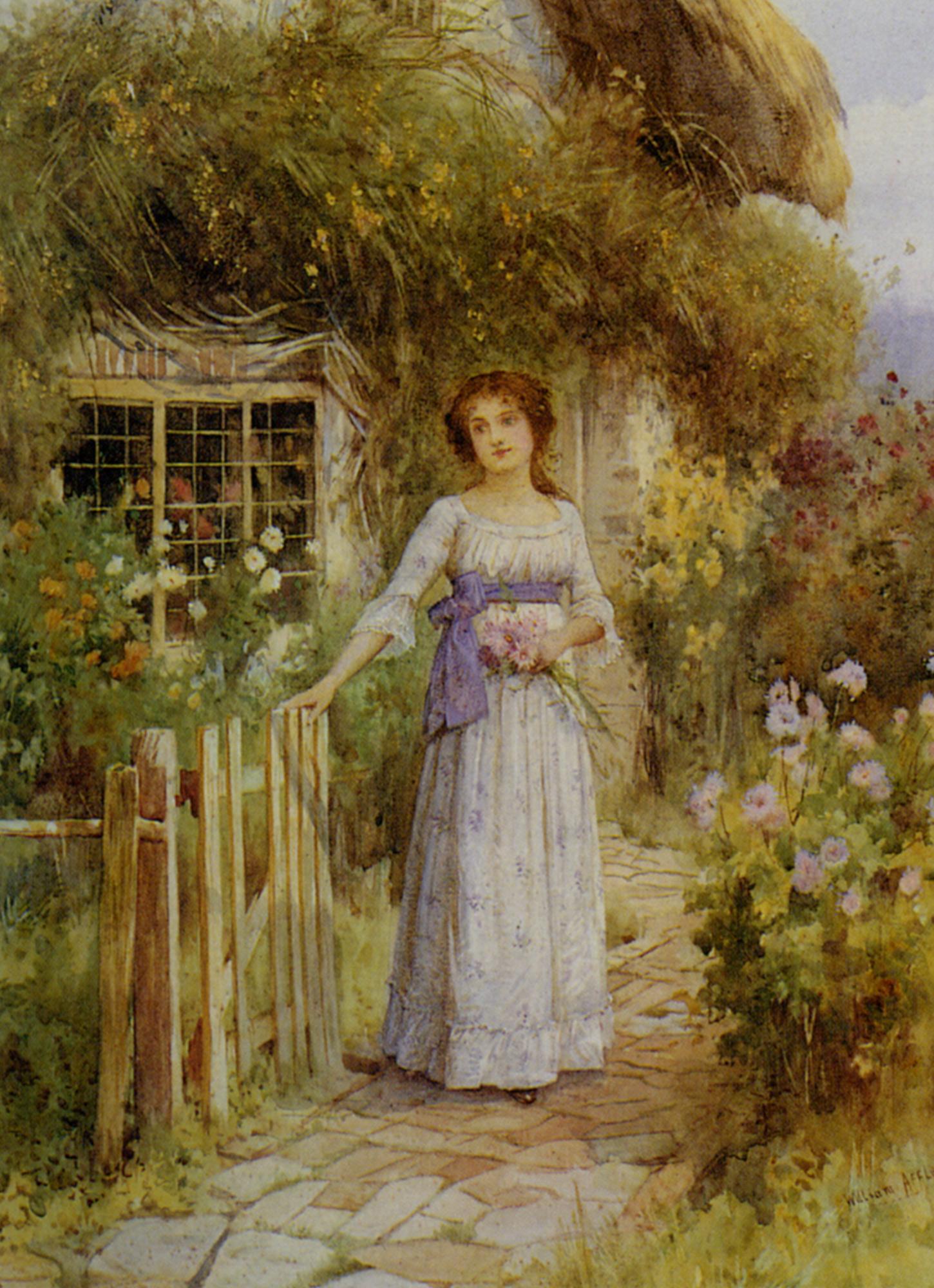 Sweet Memories :: William Affleck  - Romantic scenes in art and painting ôîòî
