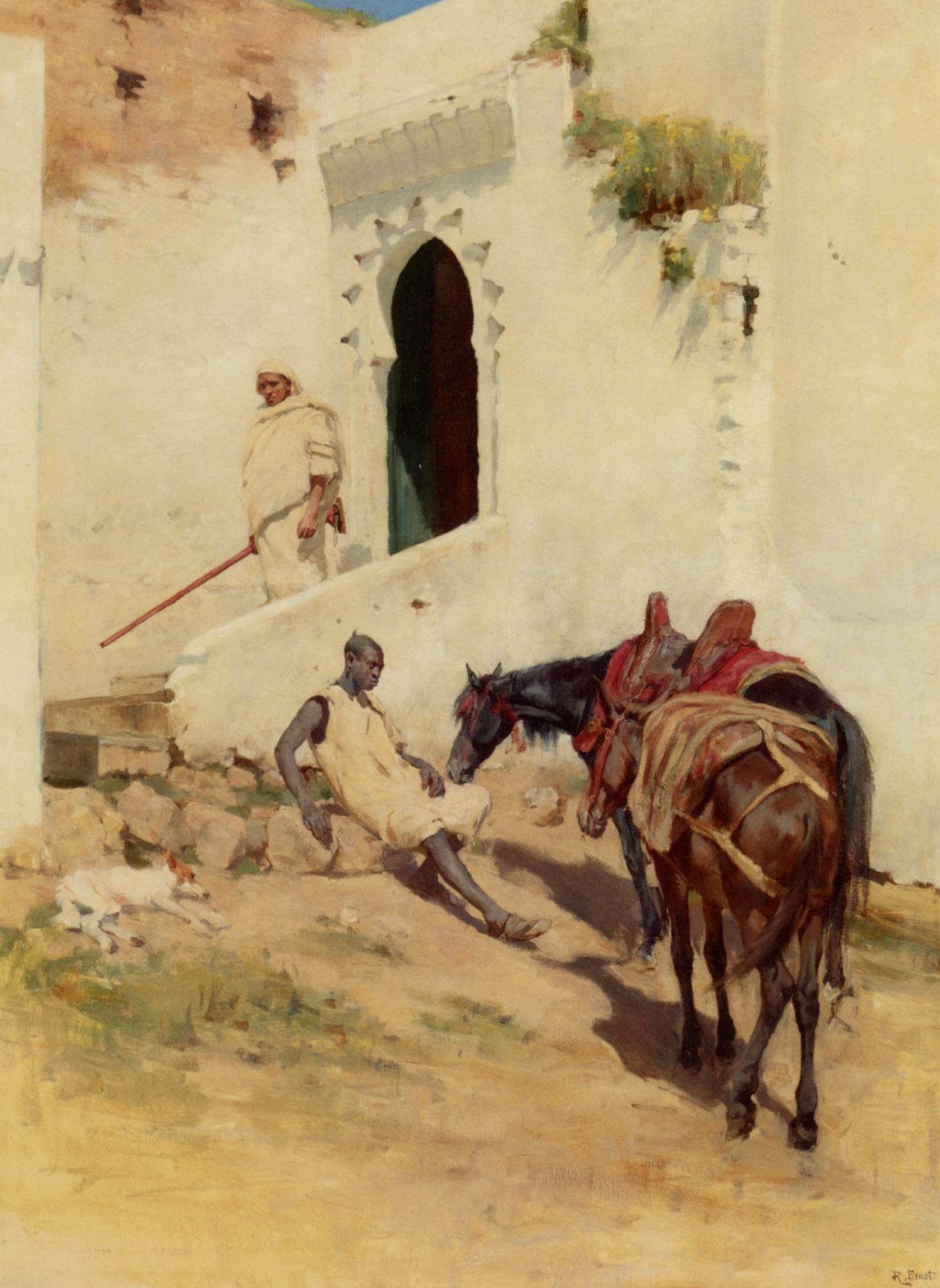 At Rest :: Alexander Mann - Horses in art ôîòî