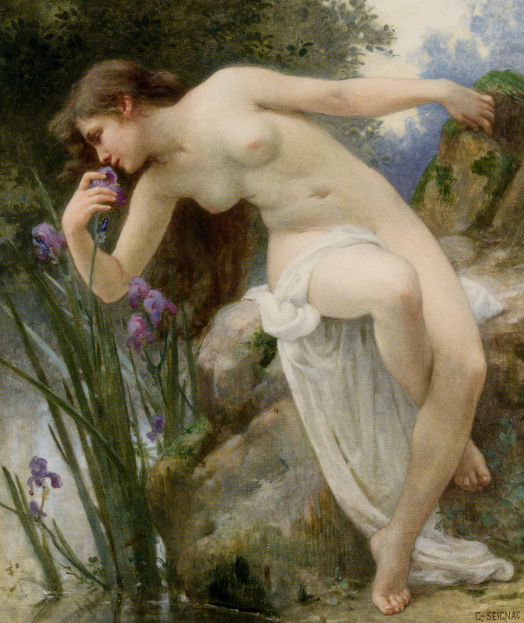Fragrant Iris :: Guillaume Seignac - Nu in art and painting ôîòî