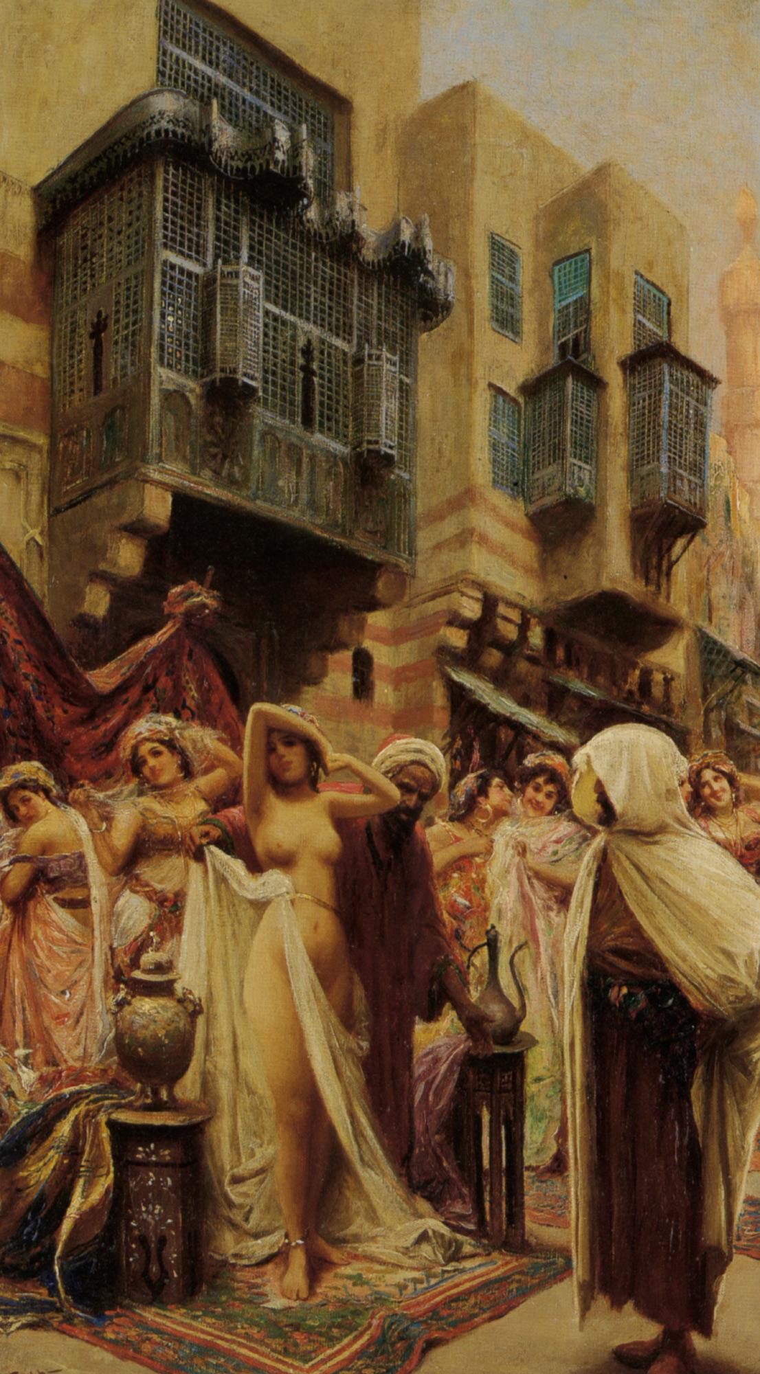 Slave Auction :: Fabbio Fabbi - Antique world scenes ôîòî