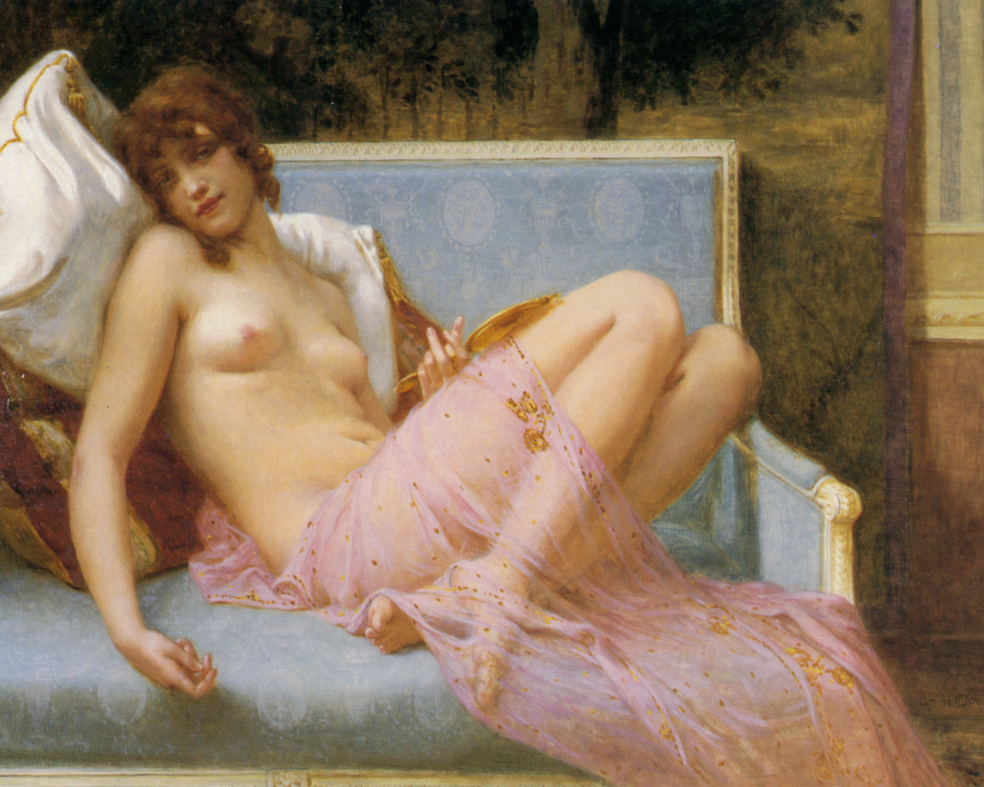 Idolence :: Guillaume Seignac - Antique beauties in art and painting ôîòî