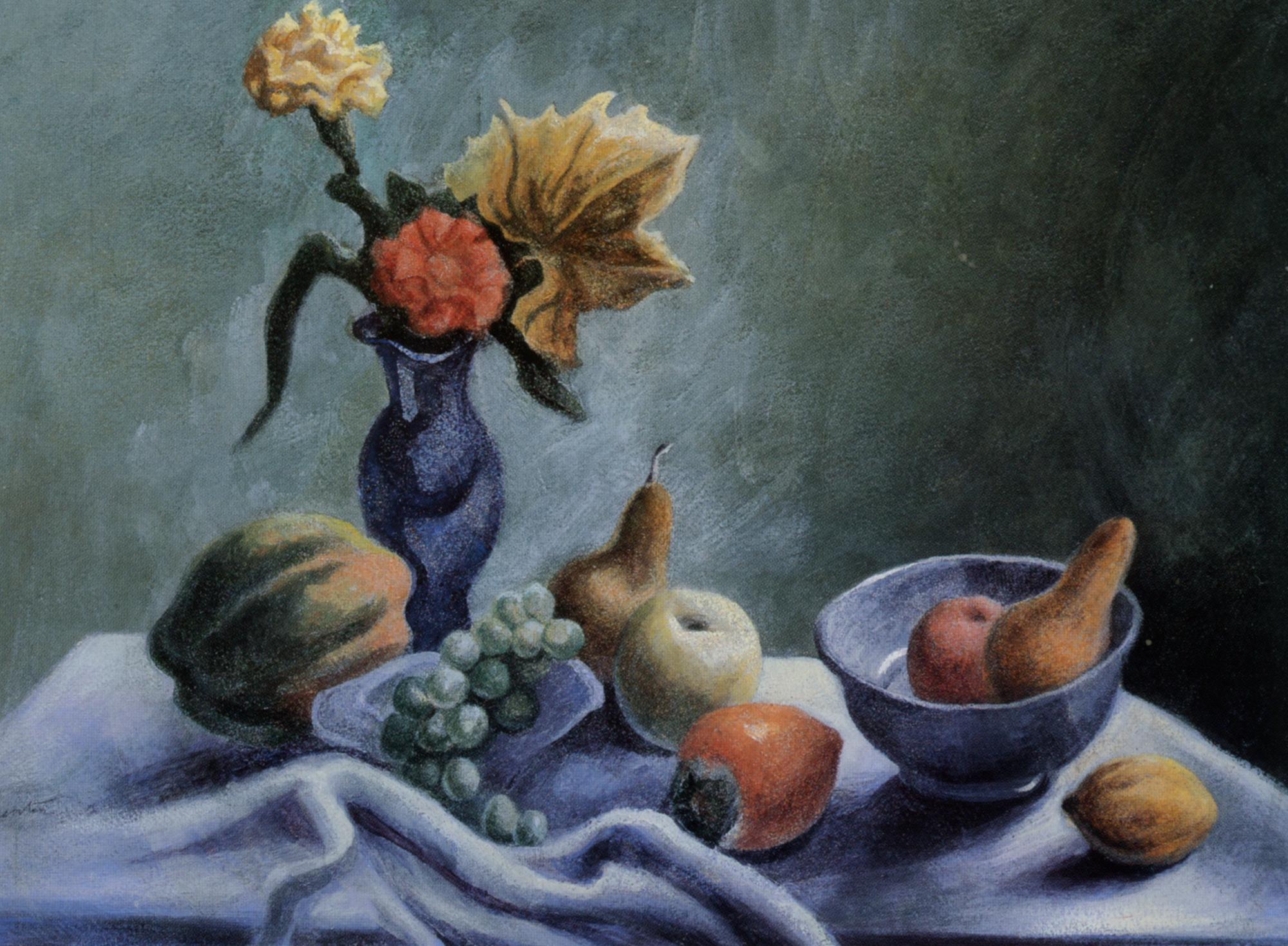 Still life with wildflowers :: Thomas Hart Benton - Still Lifes ôîòî