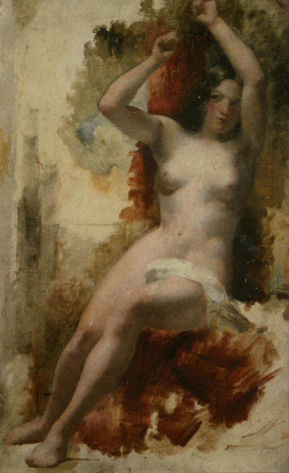 Paintings Of Nude Harem Women