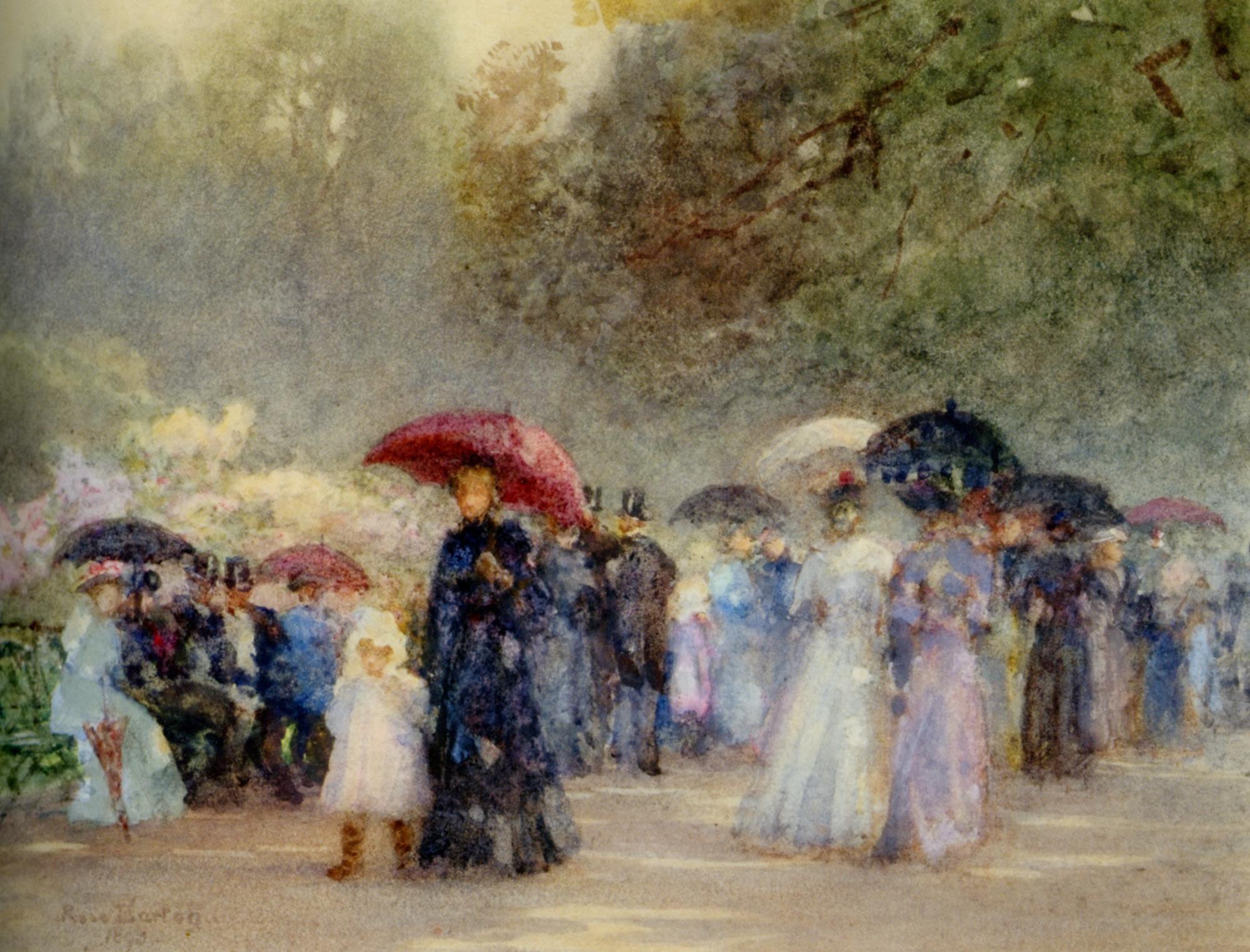 Hyde Park in May :: Rose Barton  - Picnic ôîòî
