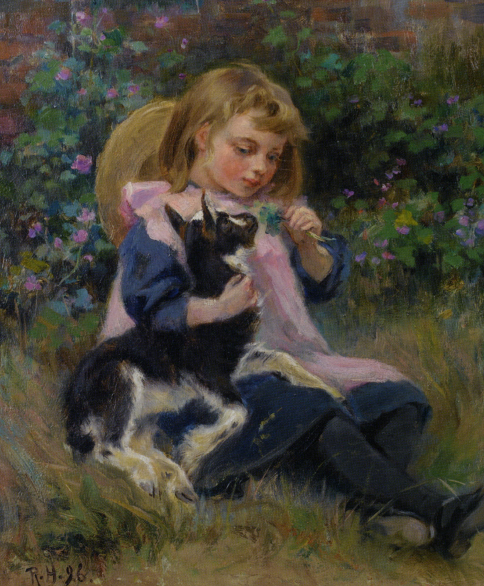 Friends :: Ralph Hedley - Portraits of young girls in art and painting ôîòî