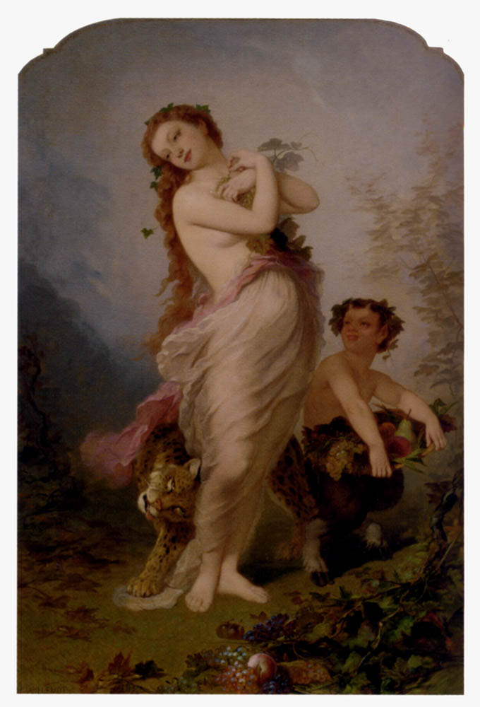 Allegory Of Autumn :: Andre Charles Voillemot - Allegory in art and painting ôîòî