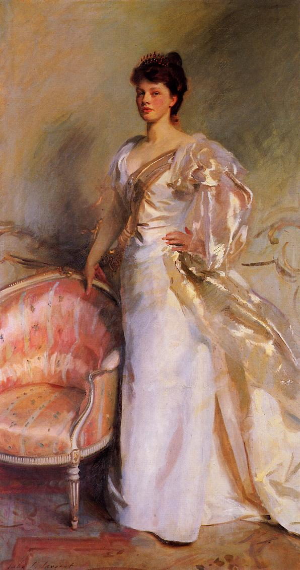 Mrs George Swinton :: John Singer Sargent - 7 female portraits ( the end of 19 centuries ) in art and painting ôîòî