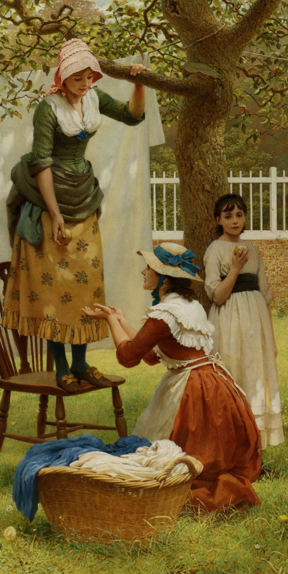 The Daughters of Eve :: George Dunlop, R.A., Leslie - Picnic ôîòî