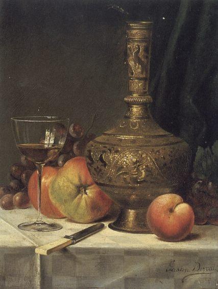 Still Life :: Gaston Derval  - Still-lives with fruit ôîòî