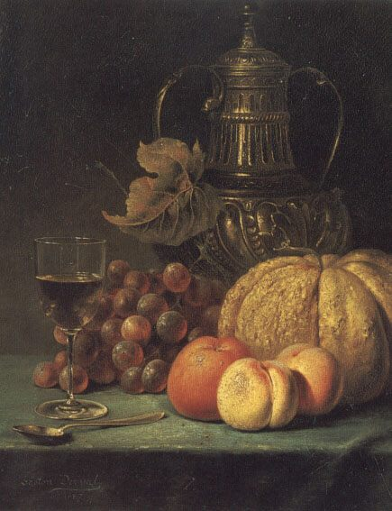 Still Life :: Gaston Derval - Still-lives with fruit ôîòî
