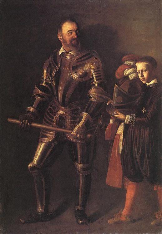 Portrait of Alof de Wignacourt :: Caravaggio - men's portraits 16th century фото