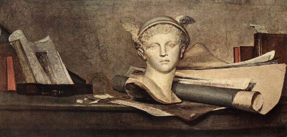 Still-Life :: Jean-Baptiste-Simeon Chardin -  фото