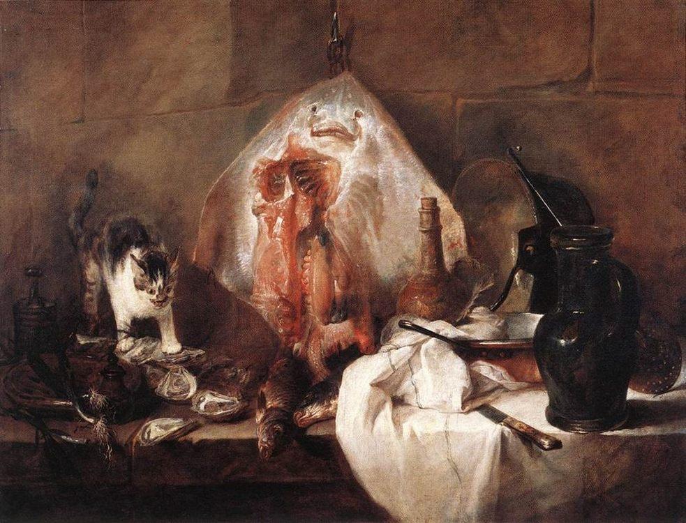 The Ray :: Jean-Baptiste-Simeon Chardin - Still Lifes ôîòî