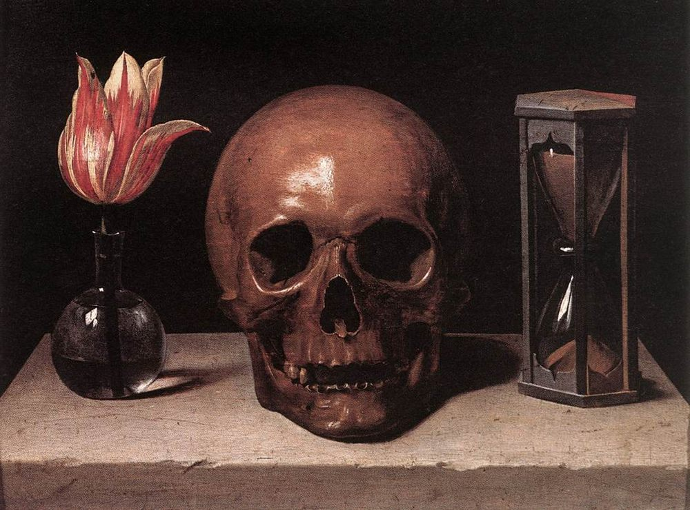 Still-Life with a Skull :: Philippe de Champaigne  -  фото