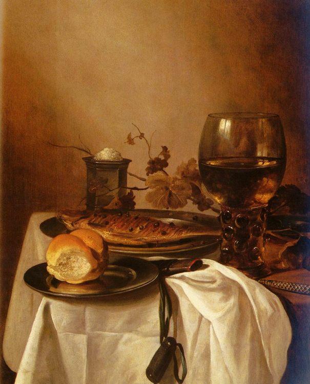 A Still Life Of A Roamer :: Pieter Claesz - Still Lifes ôîòî