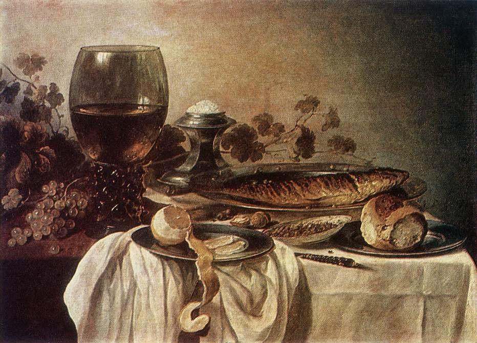 Breakfast Piece :: Pieter Claesz - Still Lifes ôîòî