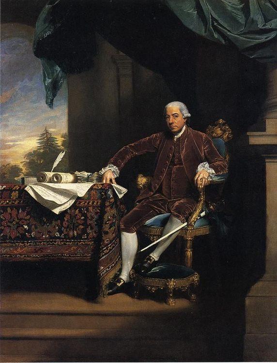 Henry Laurens :: John Singleton Copley - men's portraits 18th century ôîòî