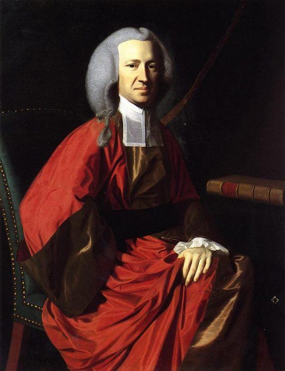 Portrait of Judge Martin Howard :: John Singleton Copley  - men's portraits 18th century фото