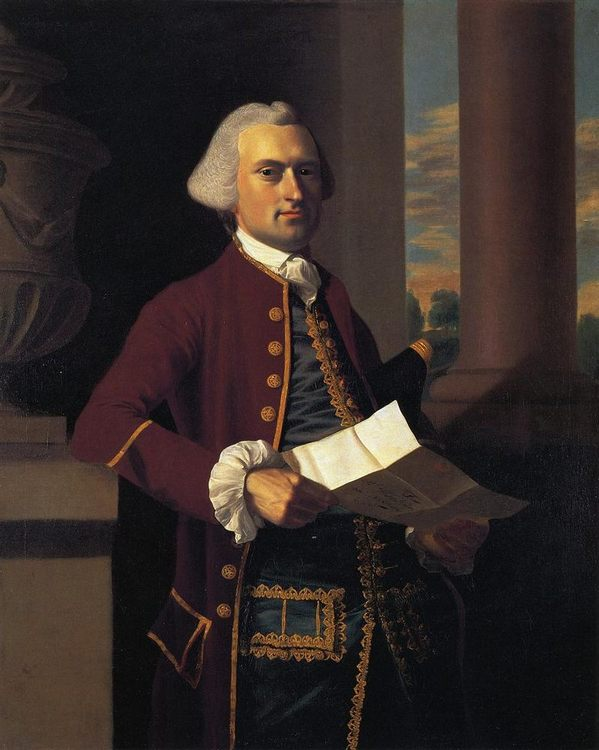 Woodbury Langdon :: John Singleton Copley - men's portraits 18th century фото