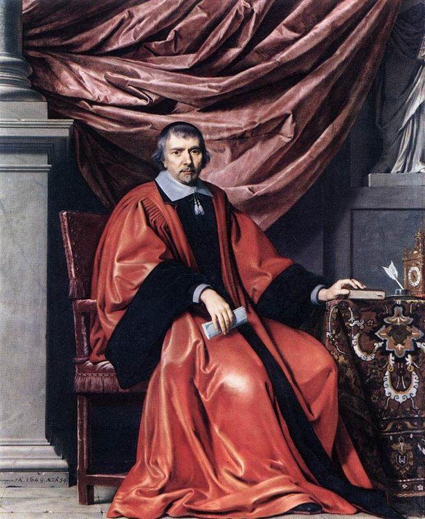 Portrait of Omer Talon :: Philippe de Champaigne - men's portraits 17th century ôîòî