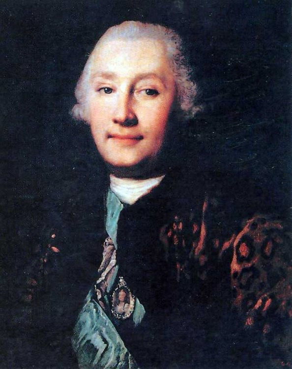 Portrait of count G.G.Orlov :: Vigilius Eriksen  - men's portraits 18th century ôîòî