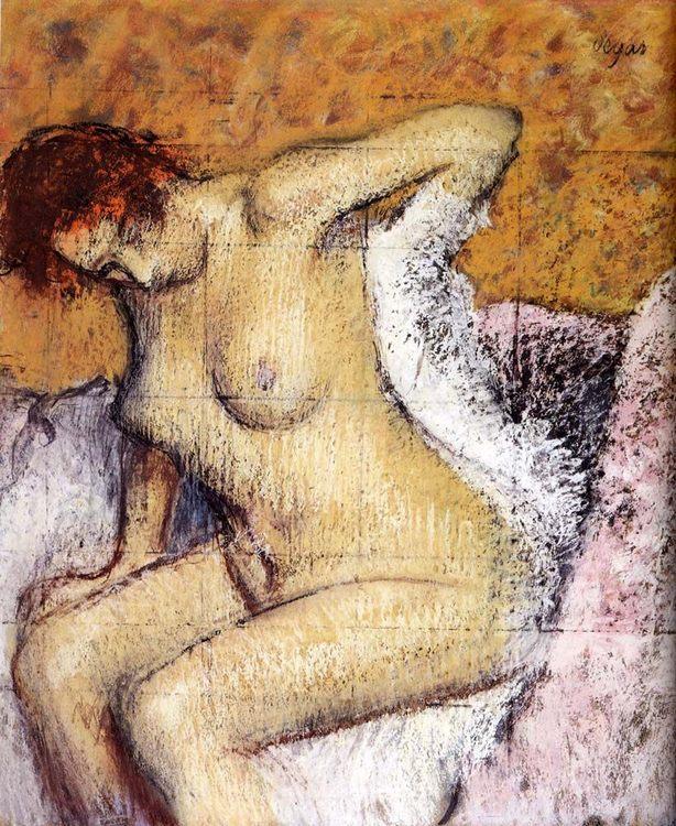 After The Bath :: Edgar Degas - Nu in art and painting ôîòî
