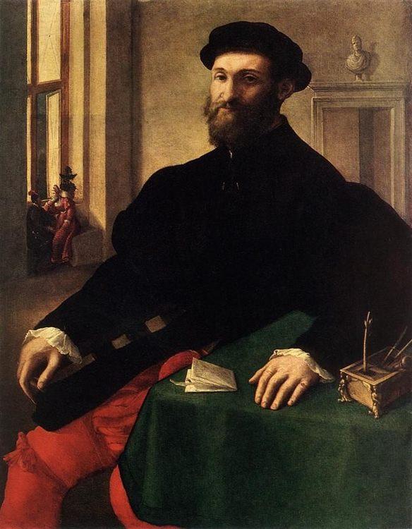 Portrait of a Man :: Giulio Campi - men's portraits 16th century ôîòî
