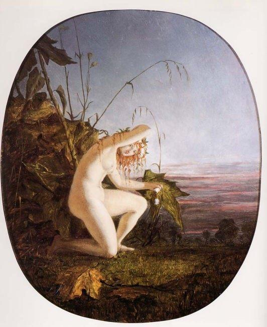 Evening :: Richard Dadd - Nu in art and painting ôîòî