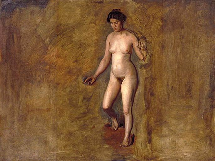 William Rush's Model :: Thomas Eakins - Nu in art and painting фото