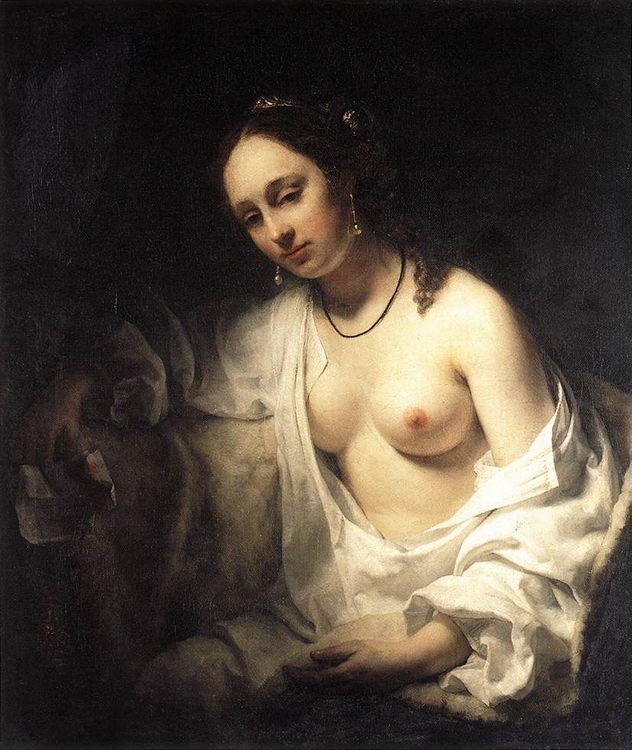 Bathsheba :: Willem Drost - Nu in art and painting фото