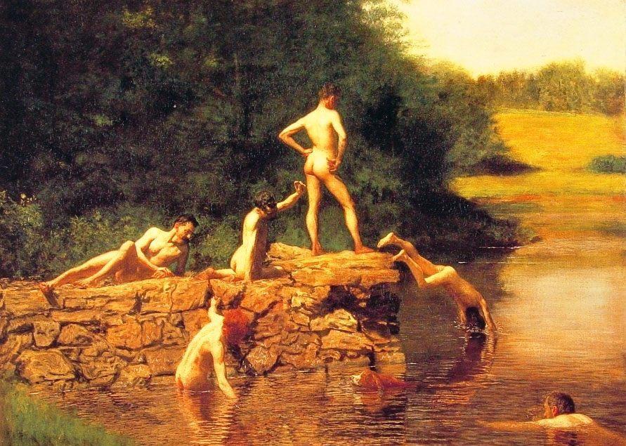 The Swimming Hole - nude men ôîòî