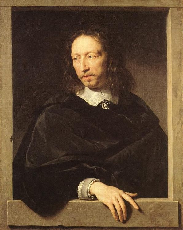 Portrait of a Man :: Philippe de Champaigne - men's portraits 17th century ôîòî