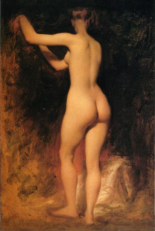 Nude Study :: William Etty - Nu in art and painting фото