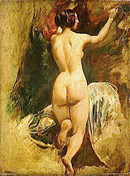 Nude Woman from Behind :: William Etty - Nu in art and painting ôîòî