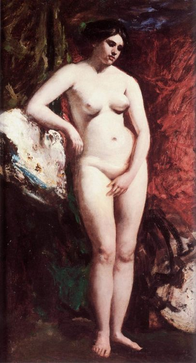 Standing Nude :: William Etty - Nu in art and painting фото