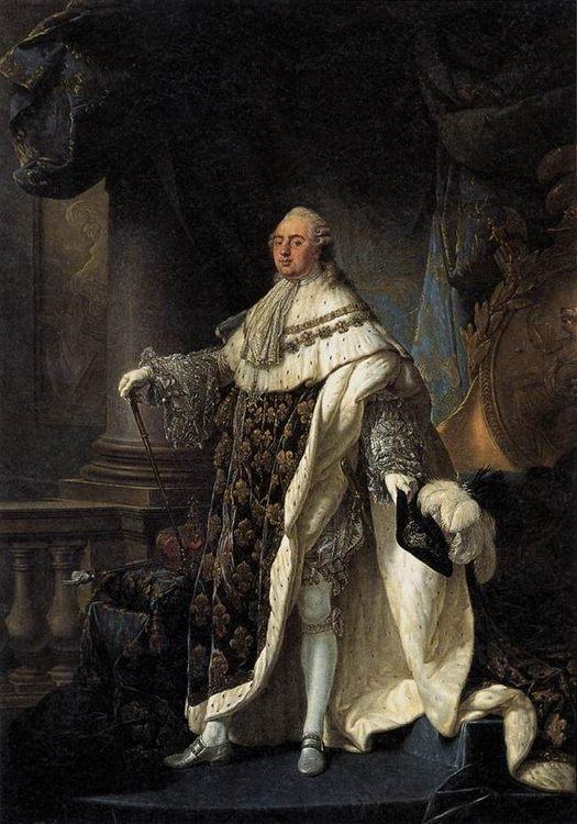 Portrait of Louis XVI :: Antoine-Fransois Callet  - men's portraits 18th century ôîòî