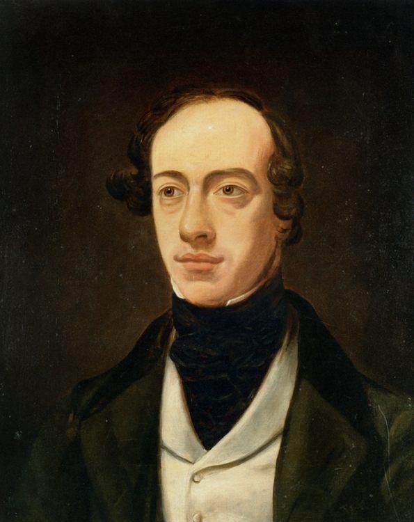 Portrait of William Pink :: William Holman Hunt  - men's portraits 19th century фото