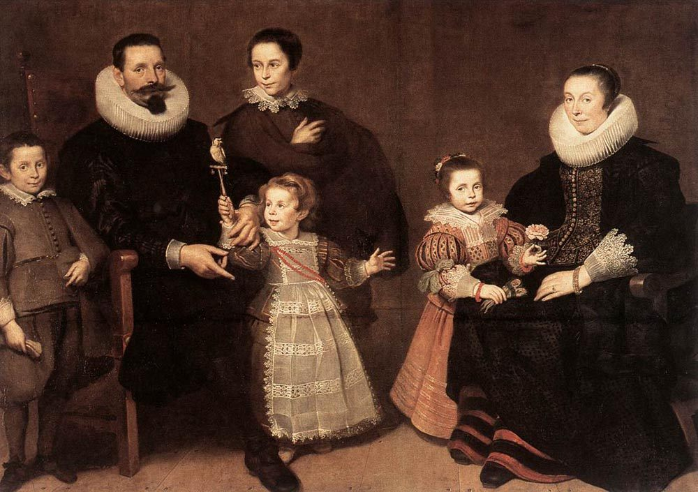 Family Portrait :: Cornelis De Vos - Family Portrait фото