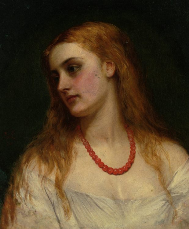 Ophelia :: Charles Sillem Lidderdale  - mythology and poetry фото