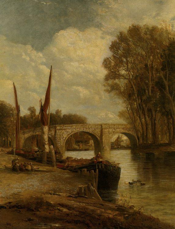 Kew Bridge :: James Webb - River landscapes фото