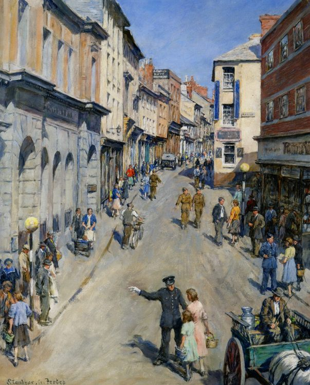 Causewayhead Penzance :: Stanhope Alexander Forbes - Street and market genre scenes фото