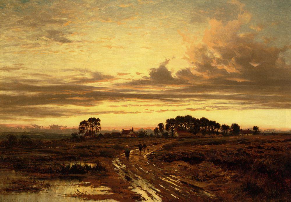 Stonehill Common :: Benjamin Williams Leader - Sunset and sunrise, sundown ôîòî