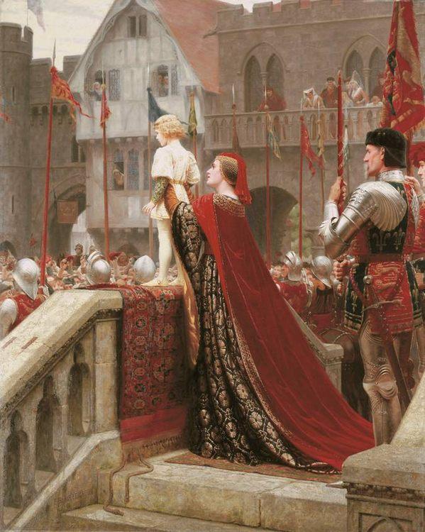 Vox Populi :: Edmund Blair Leighton - History painting фото