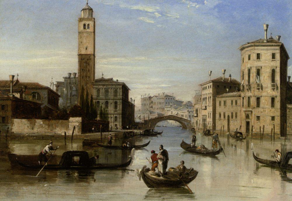 Entrance to the Cannaregio :: Edward Pritchett - Venice фото