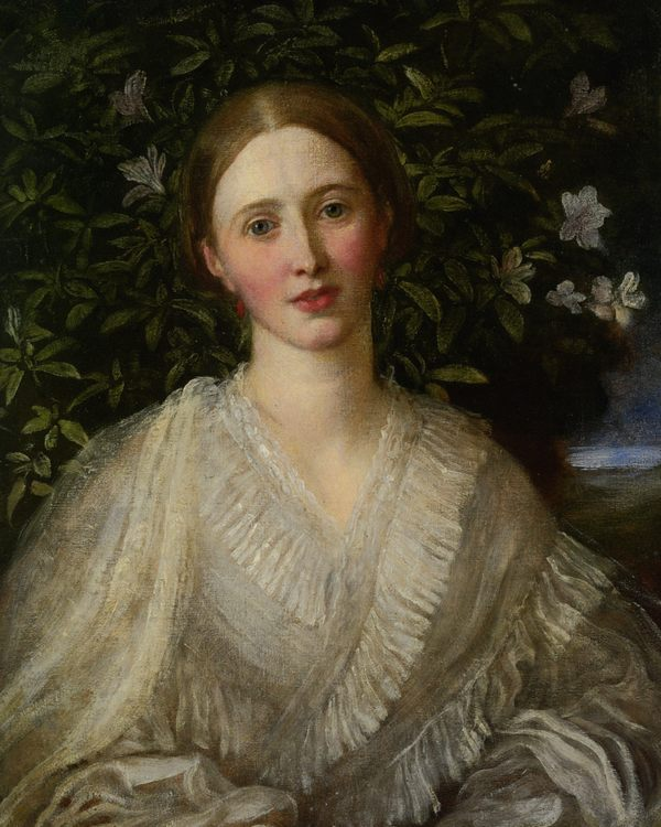 Helen Rose Huth :: George Frederick Watts  - 6 woman's portraits hall ( The middle of 19 centuries ) in art and painting фото
