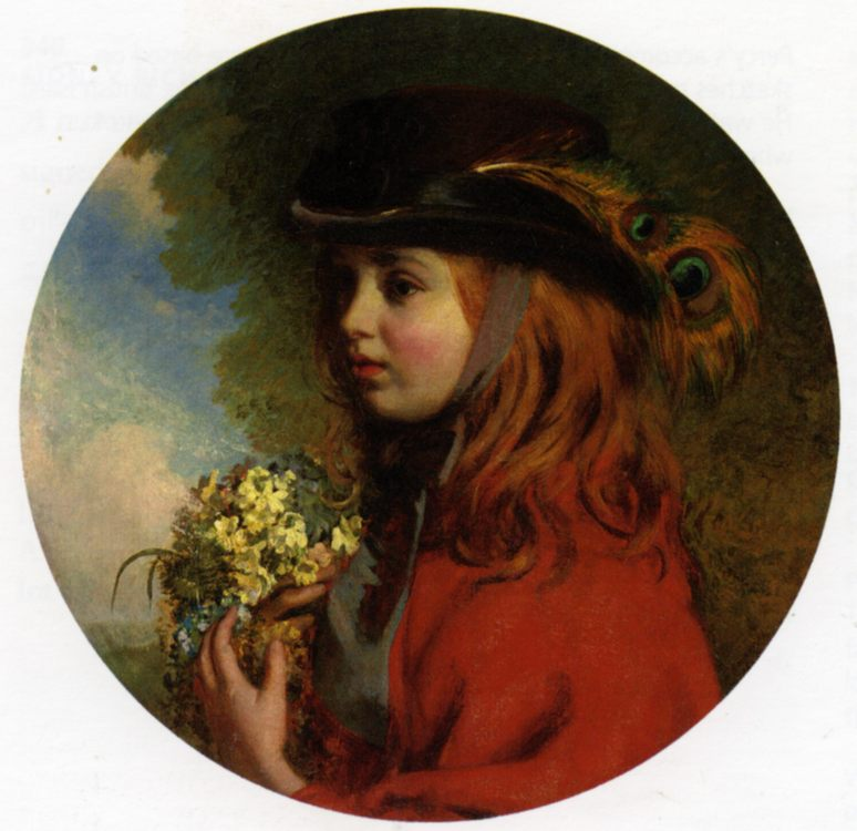 The Spring :: Henry Hetherington Emmerson  - Portraits of young girls in art and painting ôîòî